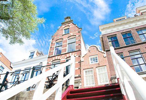 Karakteristieke panden aan de Oudegracht in Utrecht ©Susanne Sterkenburg